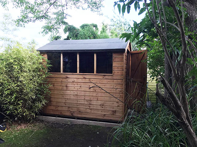 Regency Royston 8x6 Garden Storage Shed - Fiedosiuk