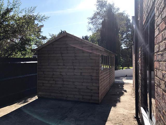 Large Regency Cawthorne Shed Installation - Savage