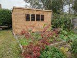 Regency Notton Pent 12x8 Shed Installation in Horsham West Sussex - Kimber