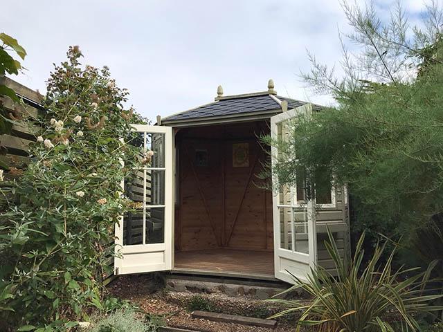 Regency Wingrove Summerhouse Installed in Shoreham West Sussex - King