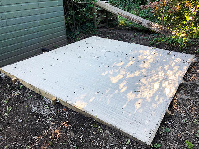 Concrete Shed Base - Baird