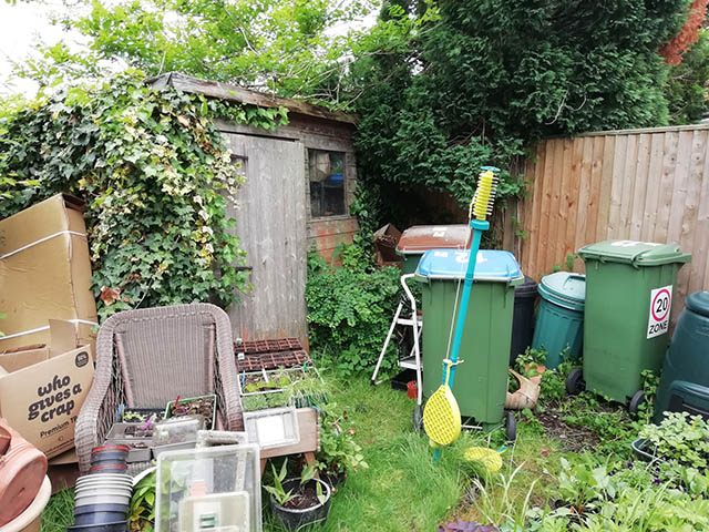 Garden Building Survey Picture - Browning