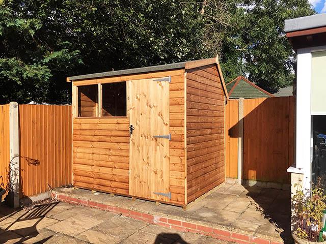 Regency Apent 8x6 Garden Storage Shed - Lovell