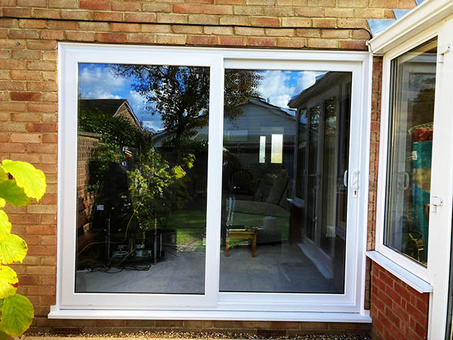 Sliding Patio Doors Supplied and Installed in Horsham West Sussex - Linfield