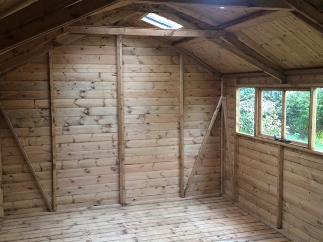 Activent installed on a Regency Barn