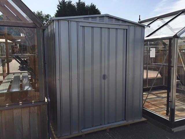 Metal Shed on Display at our Showcentre