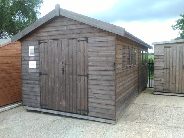 Supreme 20x10 Ex-Display Shed